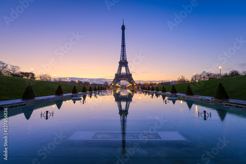 eiffel tower in paris - 227656836