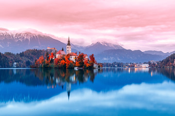 lake bled slovenia © Дмитрий Кулагин