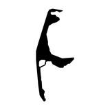 Sylt, Umriss, Landkarte - Icon, Symbol, Piktogramm, grafisches Element - Fläche - schwarz - Vektor - 227691885