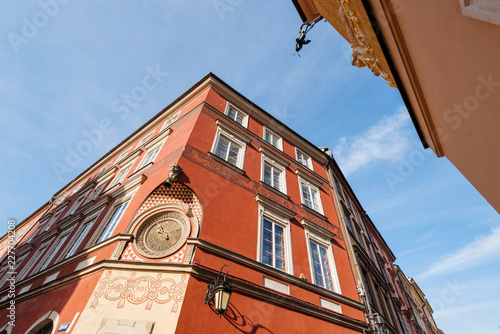 Foto Murales  Apartments in the Kanonia Square in the Old Town of Warsaw