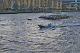 European Tourism - Thames River - Early Evening - 227706250