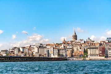 Galata Tower, Istanbul City © Salih