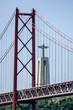 golden gate bridge in san francisco, in Lisbon Capital City of Portugal