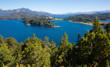 Lakes Nahuel Huapi and mountain Campanario
