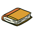 Isolated book object design