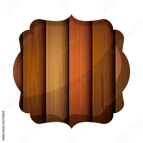 Isolated wood frame design - 227731838
