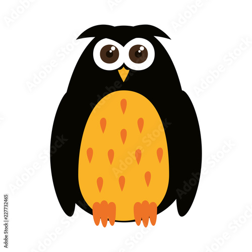 happy halloween owl icon © Gstudio Group