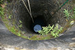 Old well in a poor village peasants, Kerala, South India
