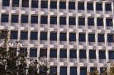 Detail of the geometric windows of a Parisian building - 227746838