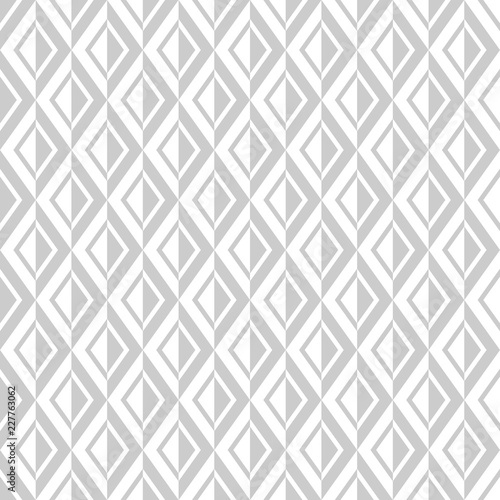 obraz lub plakat Seamless diamonds pattern. Geometric texture.