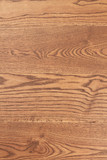 Smooth brown wood with natural patterns. Smooth wooden board texture. Natural hardwood flooring. - 227768411