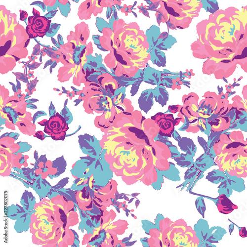 floral pattern - 227802075