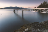 The beautiful autumn and fall seascapes and landscapes of the Pacific North West Bowen Island and Vancouver BC Canada.