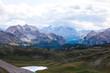 Quadro Scenic view of Italian Dolomites mountains