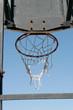 basketball Hoop at the stadium