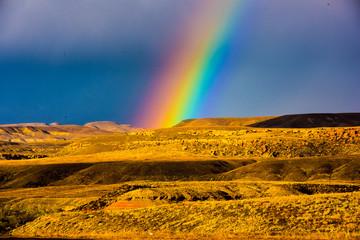 Rainbow at Four Corners