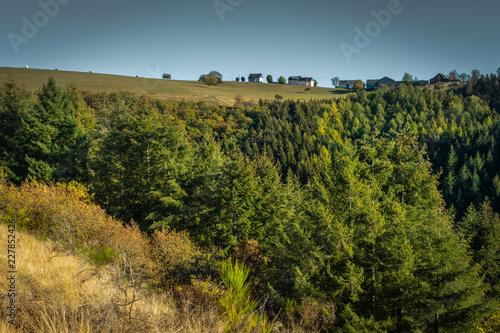 Panorama krajobrazu Eifel