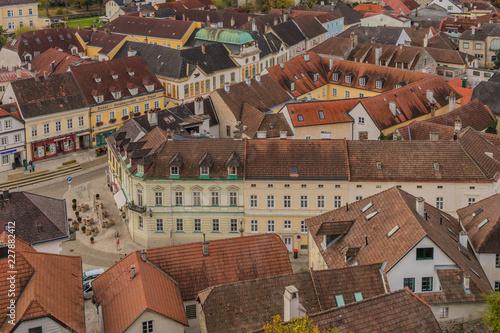 Foto Murales Rooftops in Melk