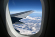 Aircraft illuminator window view - 227884206