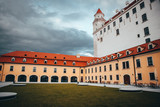 Bratislava Castle in autumn