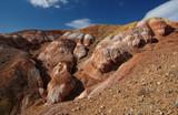 Mountain desert steppe