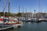 Vieux Port and lighthouse - La Rochelle - France poster