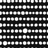 Black and white artistic spots seamless pattern, vector