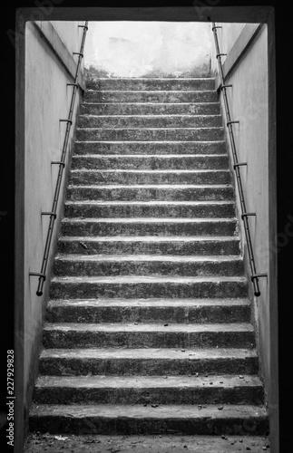 Stairway B/W
