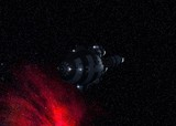 Deep Space Vessel 3d-Rendering