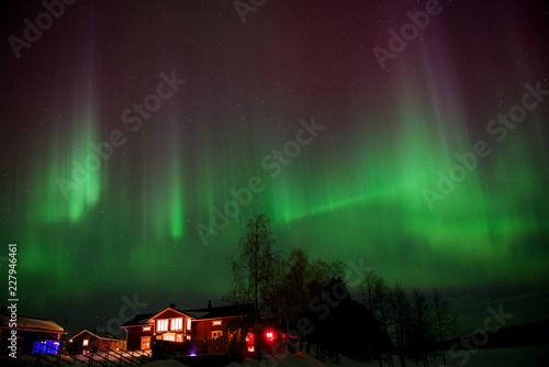 Foto Murales Northern Light in Sweden