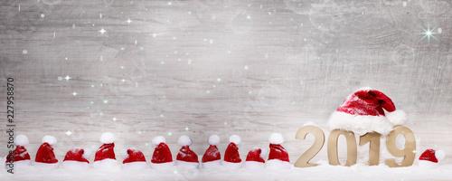 Leinwandbild Motiv Weihnachten und Silvester
