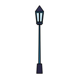 park lamp isolated icon - 227992602