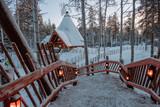 Santa Claus village in Lapland.   - 228012250