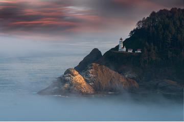 Lighthouse at Dawn © James