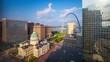 Quadro St. Louis, Missouri, USA Skyline