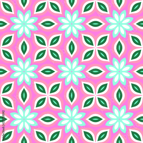 Seamless pattern background of multicolored lines with scribbler. - 228058042