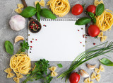 paper for recipes, vegetables and spices - 228062680