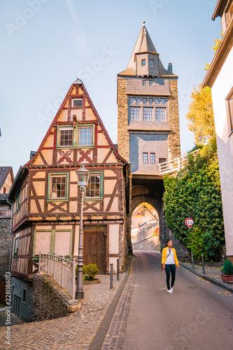 Bacharach Niemcy Dolina środkowego Renu