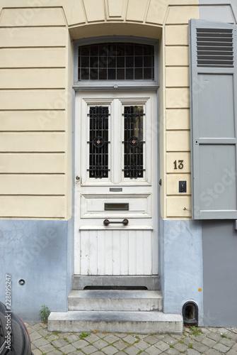 Foto Murales wooden door