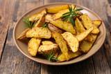 fried potato and rosemary - 228119633