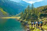 Fototapety Trekking in austrian alps