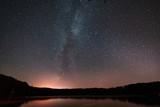 star sky with a milky way - 228128017