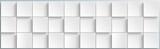 Banner mit weißen Kacheln - 228131280