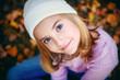 smiling yoing girl