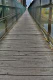 Bretter einer Brücke