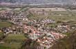 Aerial view of an Austrian village - 228154824