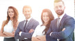 group of smiling business people - 228159460