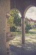 Quadro Hot Mineral water spring and Historical buildings in Piestany, Slovakia