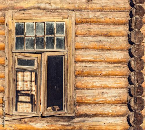 Foto Murales Broken vintage window.