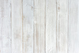 Vintage white wood texture background, wooden table top view. - 228222846